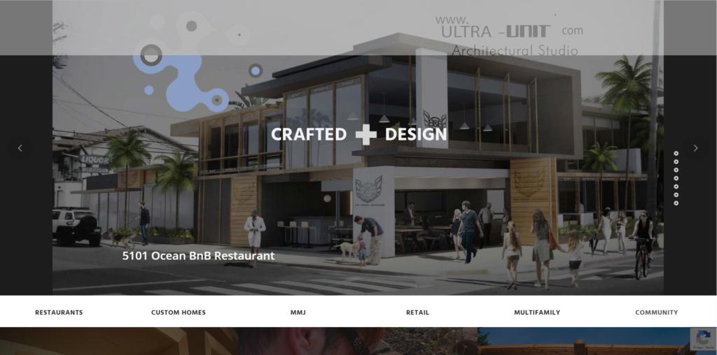 Ultra Unit website design from fitfox marketing portfolio