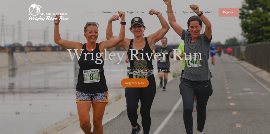 Wrigley River Run fitfox marketing portfolio