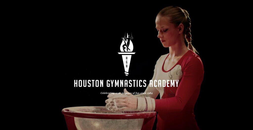 gymnastics websites houston academy design placement