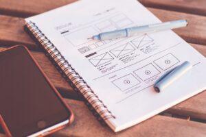 design website layout and design elements