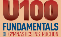 U100 Fundamentals of gymnastics instructions certification